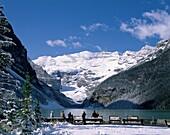 Alberta, Banff, Banff National Park, Canada, cold, . Alberta, Banff, Banff national park, Canada, North America, Cold, Glacier, Holiday, Lake, Lake louise, Landmark, Mountains, Snow
