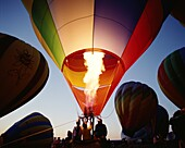 Albuquerque, being Inflated, Colourful, Dusk, Hot A. Air, Albuquerque, America, Balloon, Being, Colourful, Dusk, Holiday, Hot, Inflated, Landmark, New mexico, Tourism, Travel, Unite