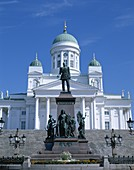 Finland, Helsinki, Senate Square, Cathedral, . Cathedral, Finland, Europe, Helsinki, Holiday, Landmark, Senate square, Tourism, Travel, Vacation