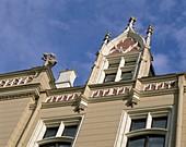 Art Deco Facades, Latvia, Riga, . Art, Deco, Facades, Holiday, Landmark, Latvia, Europe, Riga, Tourism, Travel, Vacation