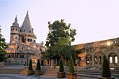 Buda, Budapest, Fishermen´s Bastion, Hungary, UNESC. Buda, Budapest, Fishermen´s bastion, Heritage, Holiday, Hungary, Europe, Landmark, Tourism, Travel, Unesco, Vacation, World