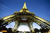 Eiffel Tower, France, Night View, Paris, Tour Eiffe. Eiffel, Eiffel tower, France, Europe, Holiday, Landmark, Night, Paris, Tour, Tourism, Travel, Vacation, View