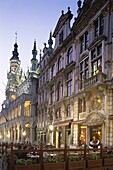 Belgium, Brussels, Cafes, Grand Place, Night View, . Belgium, Europe, Brussels, Cafes, Grand place, Holiday, Landmark, Night, Restaurants, Tourism, Travel, Vacation, View