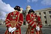 Beefeaters, England, London, Tower of London, . Beefeaters, England, United Kingdom, Great Britain, Holiday, Landmark, London, Tourism, Tower of london, Travel, Vacation
