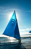 Sailing Boat at White Beach Boracay