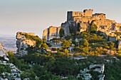 The mountain village of Les Baux, Provence, France, Europe
