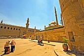 Mohammed ali mosque (The Alabaster Mosque)and Al-Nasir Mohamed Mosque, Cairo, Egypt