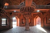 India, Uttar Pradesh, World Heritage Site, Fatehpur Sikri, Diwan-i-Khas also called Jewel House