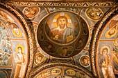 the dark church, open-air museum of goreme, cappadocia, anatolia, turkey, asia