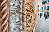 Ornamental details of Church San Paolo  Venice, Italy