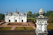 India, West Bengal, Murshidabad, former capital of Bengal, mosque and garden Khushbagh happiness garden