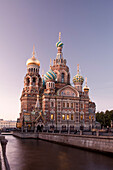 Rusia, San Petersburg City, Church of the Savior on Spilled Blood and Gribodeyova Canal