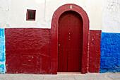 Morocco, Rabat, Kasbah area Oudayas