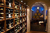 South Africa, Western Cape Province, Winelands, Constantia valley, Wine road, Klein Constantia Estate (1685), the tasting cave