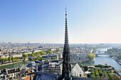 France, Ile-de-France, Capital, Paris, 4th, City center, Notre-Dame