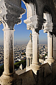 France, Ile-de-France, Capital, Paris, 18th, plunging View(Sight) (seen from Sacré-Coeur)