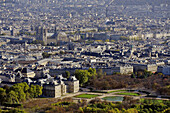 France, Ile-de-France, Capital, Paris, 6th, City center, plunging View(Sight), The Senate, Garden of the Luxembourg