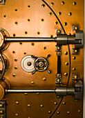Tumbler on a Vault Door, Chicago, Illinois, USA