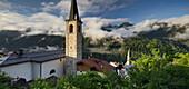 Kirchturm in Termenago di Pellizzano, Val di Sole, Trentino, Italien