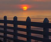 Fence at Son Marroig, Cordillera Norte, Mallorca, Spain