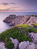 Küstenlandschaft am Cap de Capdepera, Capdepera, Mallorca, Spanien