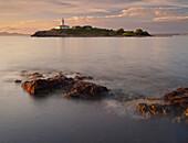 Alcanada lighthouse, Illa d Alcanada, Alcanada, Majorca, Spain