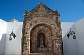 Chapell with skulls ath the cathedral Se, old town,  Cidade Velha, Faro, Algarve, Portugal, Europe