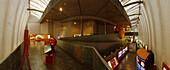 Innenansicht, Museo Domus, Casa del Hombre, Haus des Menschen, Architekt Arata Isozaki, La Coruna, A Coruna, Camino Ingles, Camino de Santiago, Jakobsweg, Pilgerweg, Provinz La Coruna, Galicien, Nordspanien, Spanien, Europa
