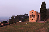 Santa Maria del Naranco, summer residence of King Ramiro I, afterwards church, 9 century, Pre-Romanesque, UNESCO World Heritage Site, Monte Naranco, mount, near Oviedo, Camino Primitivo, Camino de Santiago, Way of Saint James, pilgrims way, province of As