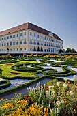 Baroque garden in Schloss Hof castle, Engelhartstetten, Lower Austria, Austria