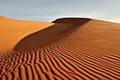Untouched sand dunes, Red Sand Dunes of Mui Ne, Vietnam