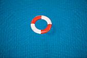Lifesaver. Pool, fresh, water, blue