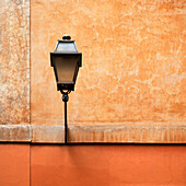 Streetlight attached to wall