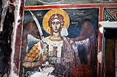 Frescoes 1578, St  Mary of Blachernes church, Berat, Albania