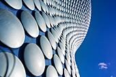 Selfridges building abstract, Birmingham, England