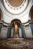 Photograph of The Salon de Los Pasos Perdilos at the centre of which stands the impressive bronze Statue of the Republic just under Cuba's National Capitol buildings cupola, CAPITOLIO NACIONAL, CENTRO HABANA, HAVANA, CUBA