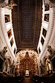 Magnificent Church of the Carmen de Antequera, considered one of the main jewels of Andalusian Baroque  His work began in the late XVI century recently restored, Antequera, Andalusia, Spain