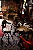 Inside the Peles Castle  Sinaia, Transylvania, Romania, Europe