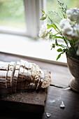 Home-baked bread, Klein Thurow, Roggendorf, Mecklenburg-Western Pomerania, Germany