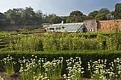 U.K Cornwall,The Lost Gardens of Heligan,Greenhouses