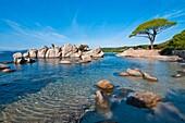 France, Corsica, South Corsica (2A), the Palombaggia beach