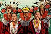 Myanmar (Burma), Sagaing State, Leshi, Nagas from the Tenkul tribe