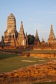 Thailand,Ayutthaya,Ayutthaya Historical Park,Wat Chai Wattanaram