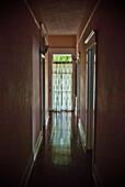 Dark, Narrow Hallway