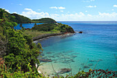 Carlisle Bay in the sunlight, Antigua, West Indies, Caribbean, Central America, America