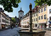 City Gate, Schwabentor, Freiburg, Baden-Württemberg, Germany, Europe