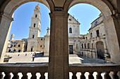 Piazza del Duomo, Lecce in Salento, Apulia, Italy