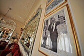 In the Grand Hotel with photos of Felini, Rimini on the Adriatic coast, Emilia-Romagna, Italy