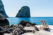 Beach club la fontanella, Capri, Campania, Italy