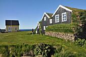 Manarbakki museum at Skjalfandi bay, North Iceland, Europe